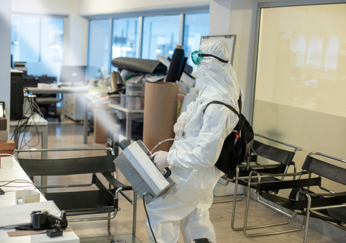 Plan for Cleaning and Disinfecting your Office