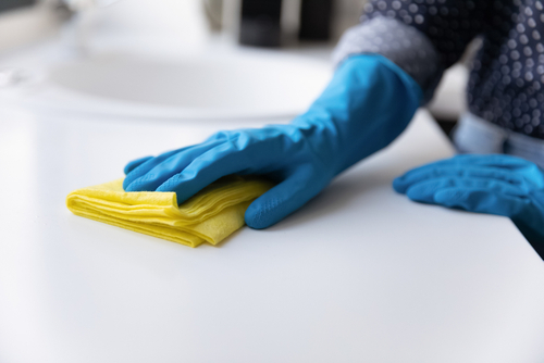 What Is The Best Way To Sanitize Kitchen Countertops?